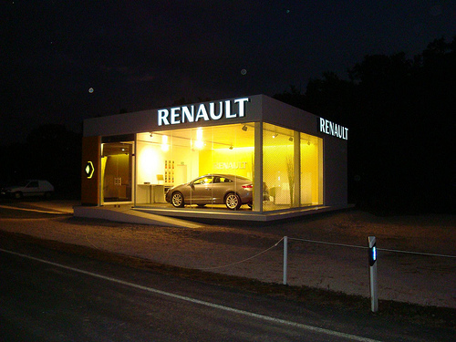 pop up store renault