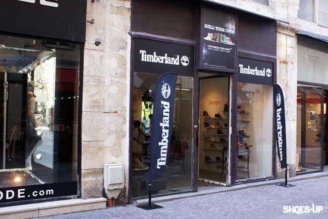 boutique timberland faubourg st antoine