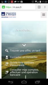 nouveau site axa.fr